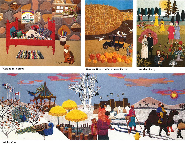 samples of Jane's beautiful work