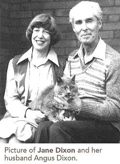 Picture of Jane Dixon and her husband Angus Dixon.