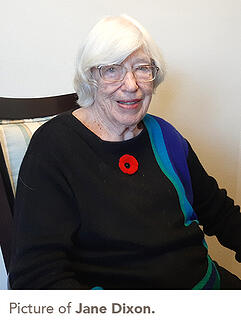 picture of Jane Dixon.