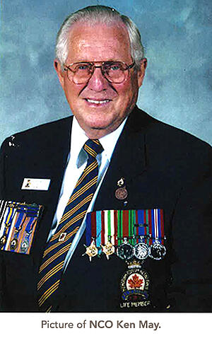 picture of NCO Ken May.