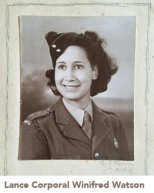 picture of Lance Corporal Winifred Watson