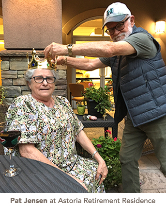 Pat Jensen at Astoria Retirement Residence