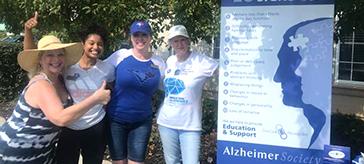 Martindale Gardens raises $3,000 for Alzheimer's Society