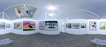 View extraordinary resident art in our new 360 virtual art gallery!