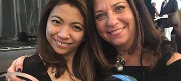 'The little things I do make somebody happy,' Vanessa Romero, winner of the Nursing Senior Leadership Award