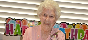 What's the secret to long life? 100-year-old Catherine has an answer