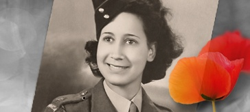 A Jamaican woman serving in the British Army