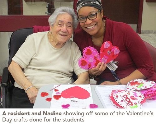 picture of a resident and Nadine