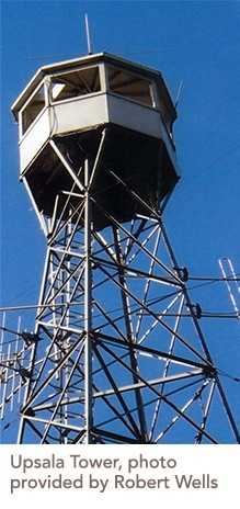 photo of the Upsala Tower