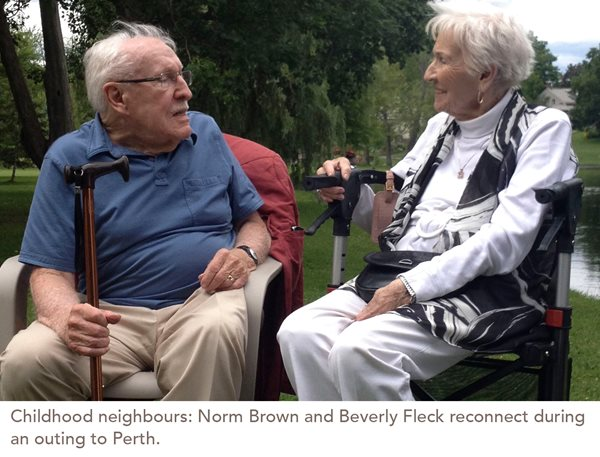 Childhood Neighbours Reconnect after 65 Years
