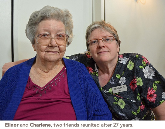 Elinor and Charlene