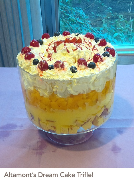 Altamont's Dream Cake Trifle