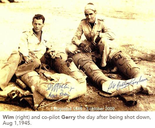 Wim and co-pilot Gerry
