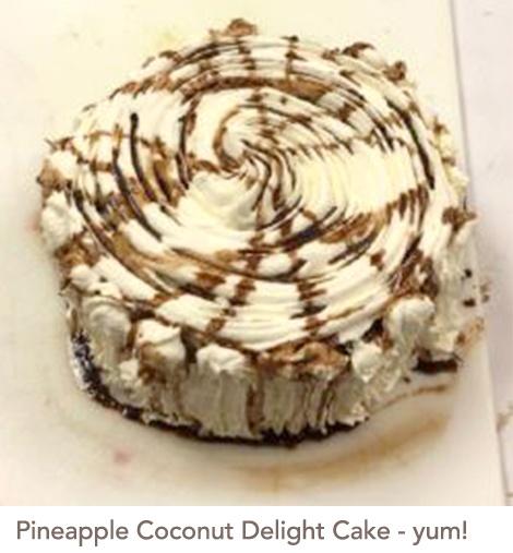 Pineapple Coconut Delight Cake