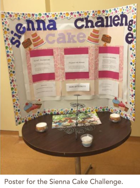 Sienna Cake Challenge poster