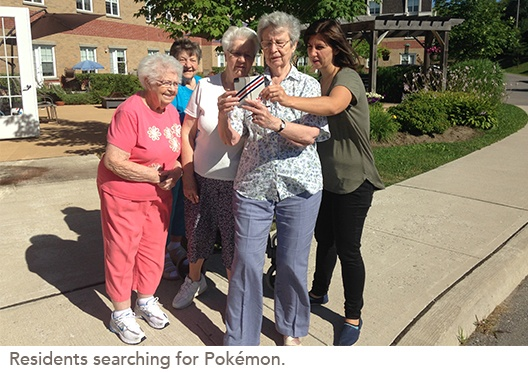 residents group photo
