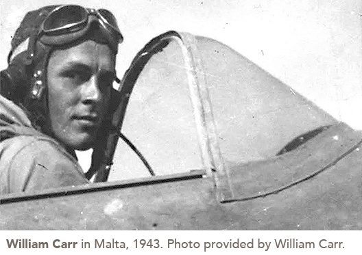 William Carr in Malta