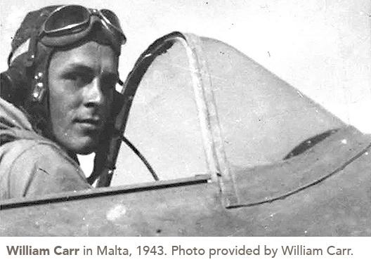 William Carr in Malta