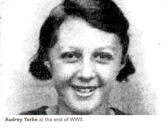 Audrey york in ww2