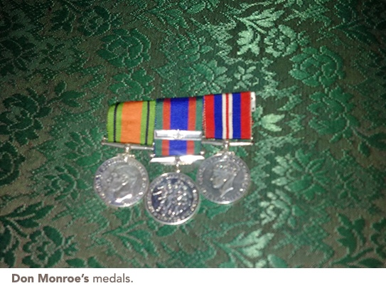 Don Monroes medals