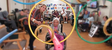 The Olympic Games at Cheltenham Care Community